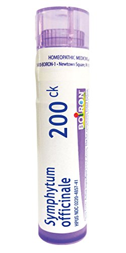1 30c Vial - Boiron Symphytum Officinale 200CK, 80 Pellets, Homeopathic Medicine for Bone Trauma