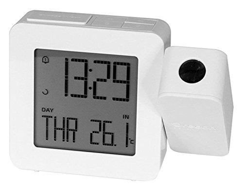 Oregon Scientific Wetterstation RM338P white Projektions Uhr, weiß