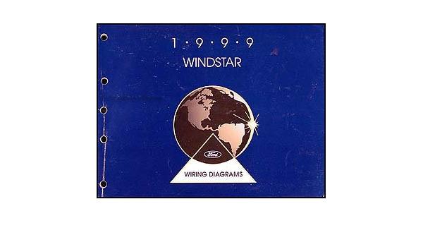 1999 Ford Windstar Wiring Diagram Manual Original Ford Amazon Com Books