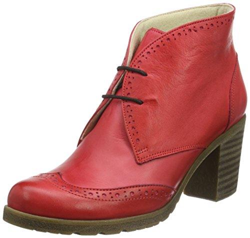 Andrea Conti 1672711, Zapatillas de Estar por Casa para Mujer Rojo - Rot (Rot 021)