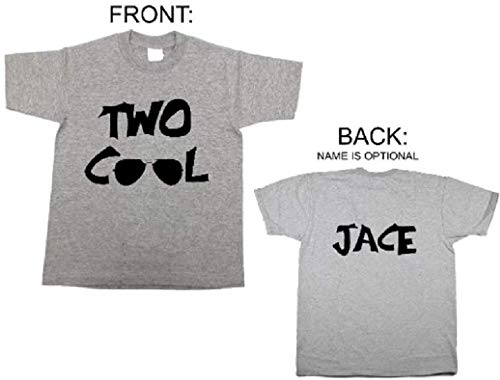 1cf1042c Image Unavailable. Image not available for. Color: Personalized two year  old shirt with name 2nd birthday ...