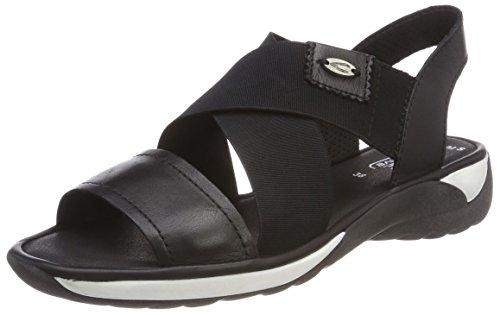 Women's Sandals S Blue Kile Active Kvinners Måneskinn Sandaler Heels Moonlight svart 72 Active Camel S Hæler Wedge Blå Camel black 72 tA5w7qt