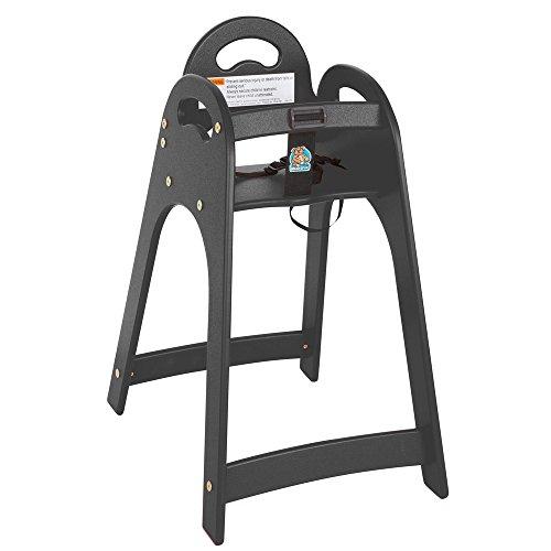 Koala Kare KB105-02 Designer High Chair - Black - Kid E-kare Flush
