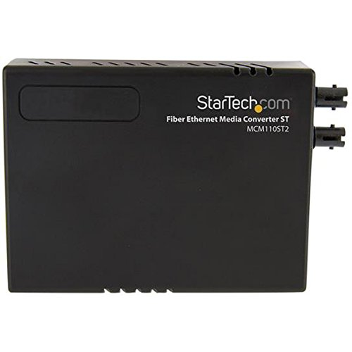 10/100 Multi Mode Fiber Copper Fast Ethernet Media Converter ST 2 km - UTP to 100Base-Fx - Fiber Optic Media Converter MM