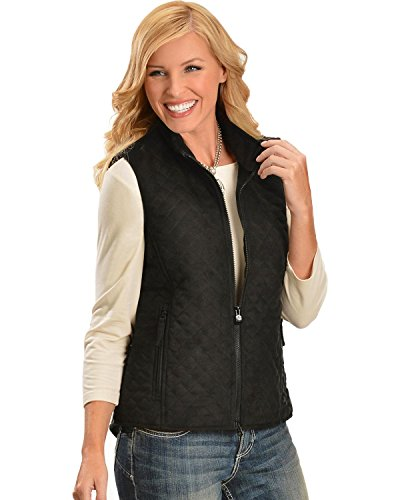 (Outback Trading Co Women's Co. Grand Prix Vest Black X-Large)