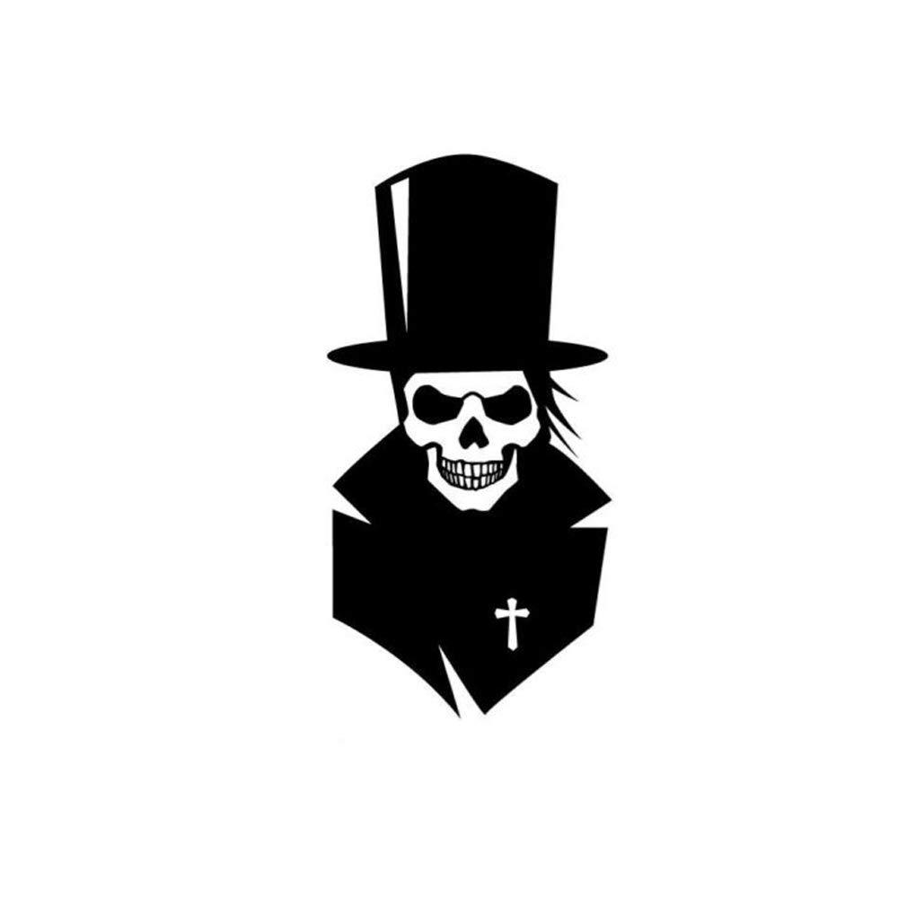 Amazon com mckk cutter grave digger skull car decal sticker die cut vinyl decal for windows car toolbox macbook laptops black automotive