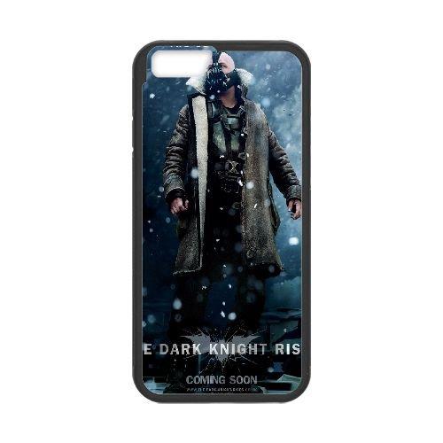 Bane The Dark Knight Rises 8 8Black coque iPhone 6 Plus 5.5 Inch Housse téléphone Noir de couverture de cas coque EBDOBCKCO10340