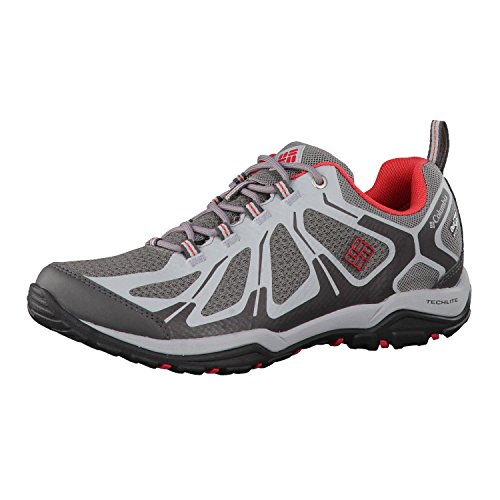 Sunset Grey Xcrsn Red Peakfreak Columbia Donna Scarpe Steel Low Xcel Outdry Ti Outdoor Sportive Ii PO46q45
