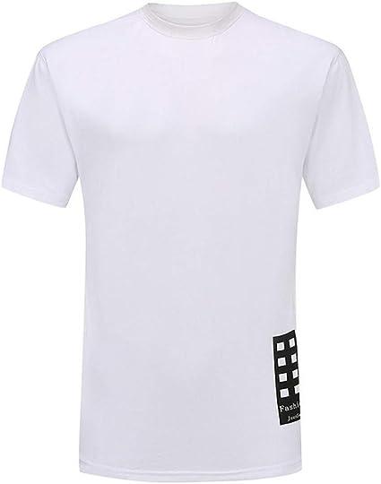 Camisetas Blancas Hombre, Alta tecnologia, Repelente al Agua Anti ...