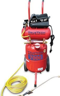 TrueTech 7000 4 in 1 Portable Applicator With Compressor (TT7000)