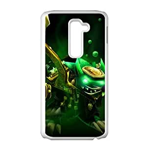 LG G2 Cell Phone Case White League of Legends Kingpin Twitch VB6963865