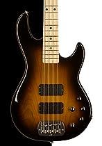 G&L USA M-2000 Electric Bass, Tobacco Sunburst, Maple
