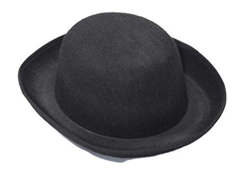 Black Amish Hat (Amish or Steampunk Derby Hat Black)