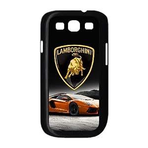 Lamborghini X9E10Q6VO funda Samsung Galaxy S3 9300 funda caso DK8B1V negro