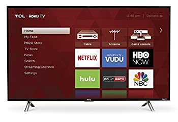 Tcl 43s305 43-inch 1080p Roku Smart Led Tv (2017 Model) 0