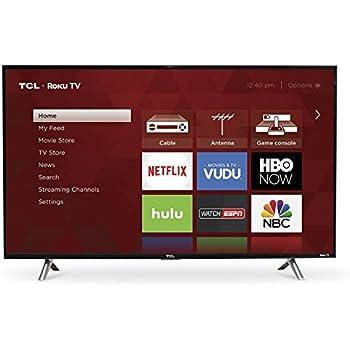 TCL 43S305 43-Inch 1080p Roku Smart LED TV (2017 Model)