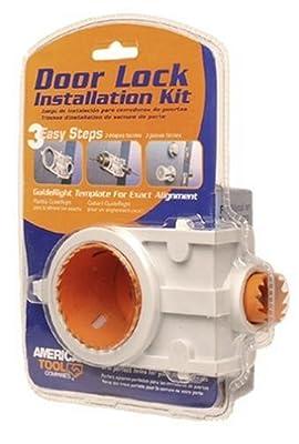 American Tool 17105 Carbon Door Lock Installation Kit