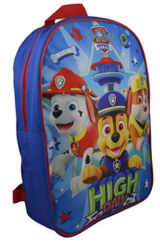 """Nickelodeon Paw Patrol Boy 15"""" School Bag Backpack"""