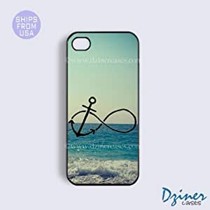 iPhone 6 Plus Tough Case - 5.5 inch model - Infinity Anchor Sea iPhone Cover