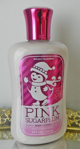 Bath Body Works Signature Collection Body Lotion Pink Sugarplum 8oz