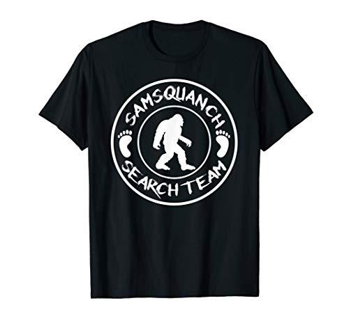 Samsquanch Search Team t-shirt