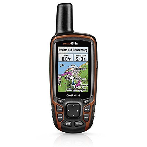 Garmin GPSMAP 64s Worldwide with High-Sensitivity GPS and GLONASS Receiver-(Certified Refurbished)