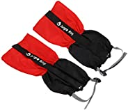 BESPORTBLE 1 Pair Sports Skiing Leg Gaiters Thicken Lightweight Cold Wind Water Resistant Leg Cover Protector