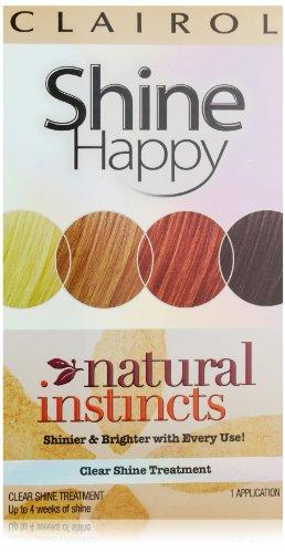 Clairol природных инстинктов Цвет волос Shine Днем 00 Ясно Обуви Лечение 1 комплект (комплект из 3)