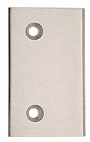 C.R. LAURENCE G6BN CRL Brushed Nickel Geneva Series Standard Cover Plate for the Fixed Panel