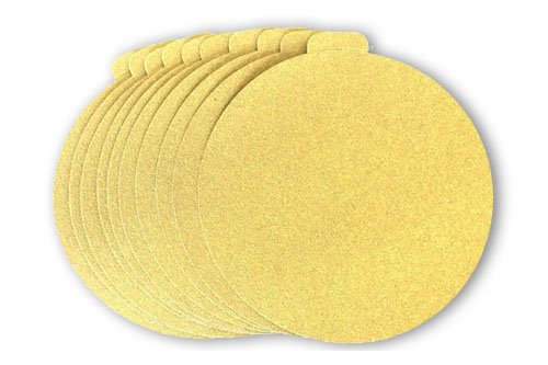 5 Inch PSA Adhesive Sticky Back Tabbed Sanding Discs (50 Pack, 40 Grit)