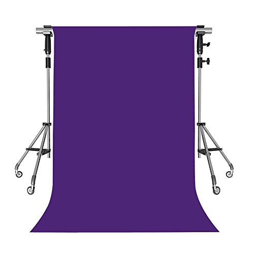 MEETS 5x7ft Non-woven Fabric Backdrop Ultra Violet Simple Fashion Photography Background Studio Props Photo Booth YouTube Backdrop SZWMT001