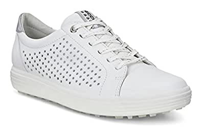 ECCO Womens Casual Hybrid 2 Perforated-W Casual Hybrid 2 Perforated White Size: 5-5.5 M US