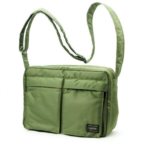 c0ace34ae58d Porter Tanker   Shoulder Bag L 08810 Green   Yoshida Bag  Amazon.ca  Office  Products