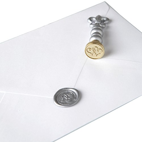 Seal Stamper - Darice GAR81126 Hearts Hot Wax Stamper for Seal, 3/4-Inch