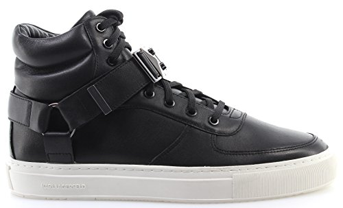 Zapatos Hombre Sneakers KARL LAGERFELD KL51070 000 Eclipse Klaps Black Leather