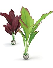 biOrb Silk Plant Pack Medium, Purple/Green, 2 Pack