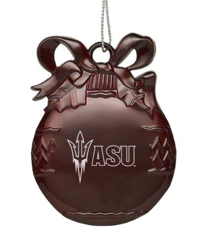 Arizona State University - Pewter Christmas Tree Ornament - -