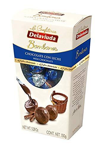 Chocolate Spanish Milk - Delaviuda Milk Chocolate Truffles