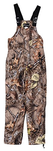 World Famous Sports Big Boys Youth Waterproof Breathable Insualted Camo Bib Overall (Camoflauge M)