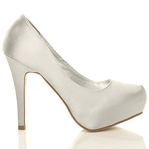 Talon Mariage Plateforme Elegant Femmes Chaussures Haut Strass RqPRId
