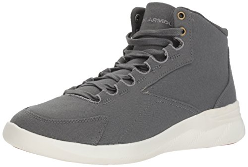 Ivory Clay Canvas Under Green Sneaker Charged Pivot Armour Women's Mid 101 0wngHqv6