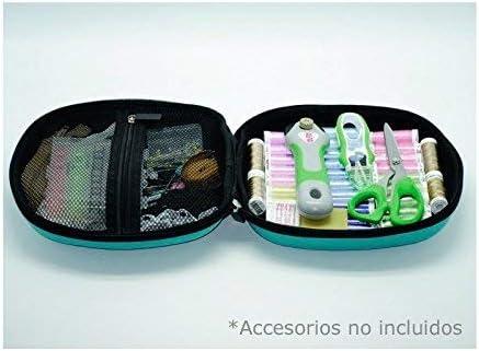 Alfa Costurero Creativity Box, Goma, Azul, 29x12.5x29 cm: Amazon ...