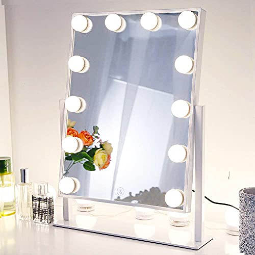 Chende Lighted Vanity Mirror with Dimmable LED