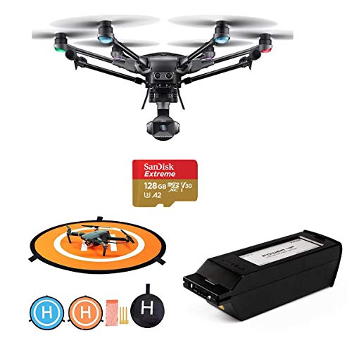 Yuneec Typhoon H3 Hexacopter with 1in Sensor 4K Camera, ST16S Groundstation Controller – Bundle 5250mAh Lithium Polymer…