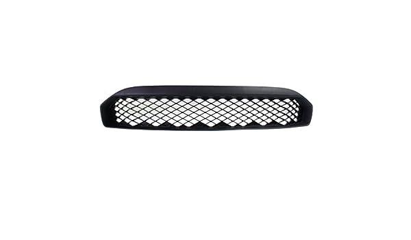 Bumper Grille For 2009-2011 Ford Focus Center Textured Black Plastic