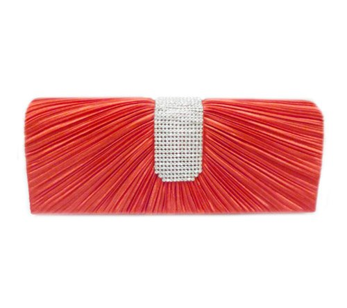 Edelweiss 10 Crystal Red with Party Strap Clutch Radiant inch PnrFPq