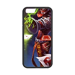 iPhone6 Plus 5.5 inch Phone Case Black Twisted Fate league of legends WE1TY711338