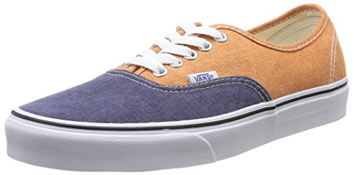 Vans Unisex golden Multicolore Sneakers Authentic Ochre U peacoat HqxAwrH6