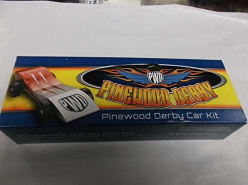Scout Derby Grand Prix Pinewood Derby Car Kit (Pinewood Derby Car Paint)