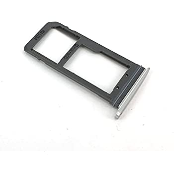 E-repair SIM Card Tray Holder Slot Replacement for Samsung Galaxy S7 G930 (Silver)